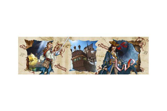 Lipni juosta Piratai|Satininės paklodės|TavoSapnas