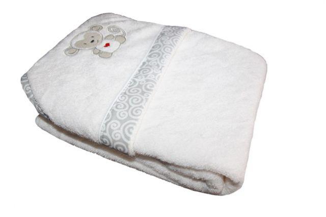 Bambuko rankšluostis su gobtuvu Beždžionėlė-2|Satininės paklodės|TavoSapnas