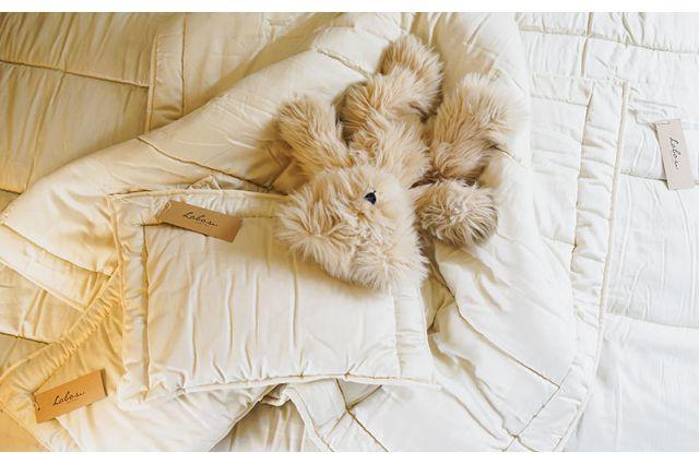 Rankų darbo vilnos užpildo vaikiška pagalvė|Satininės paklodės|TavoSapnas