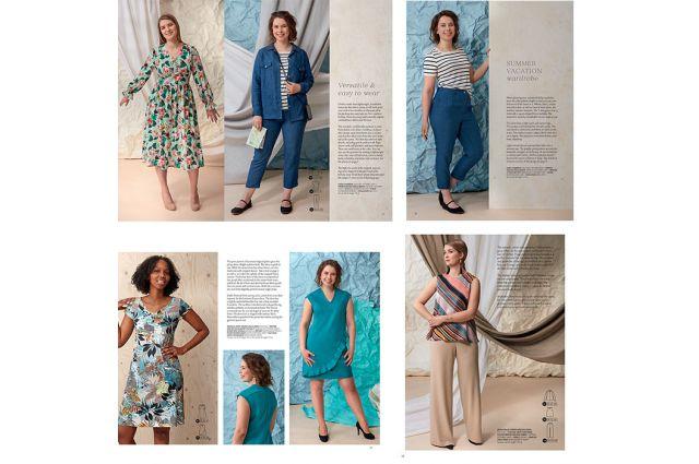Ottobre design Woman Spring/Summer 2/2019 Satininės paklodės TavoSapnas
