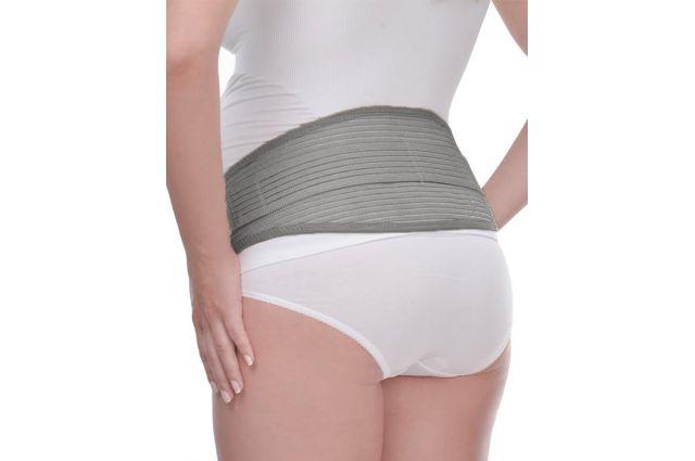 Palaikomasis nėščiosios diržas Lux Grey Satininės paklodės TavoSapnas