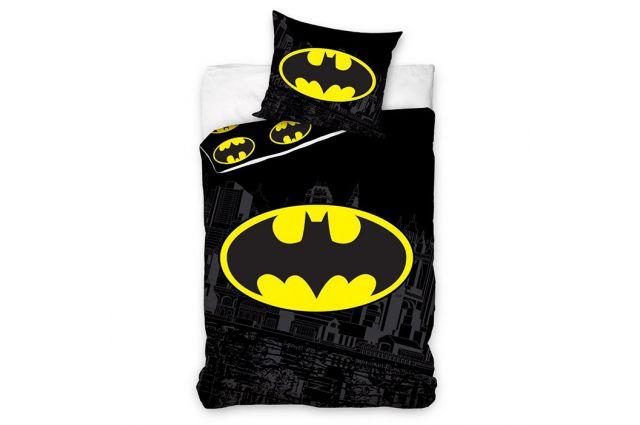 Patalynės komplektas Batman|Satininės paklodės|TavoSapnas