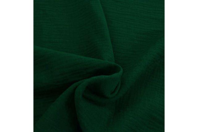 Double gauze muslinas tamsiai žalias Satininės paklodės TavoSapnas