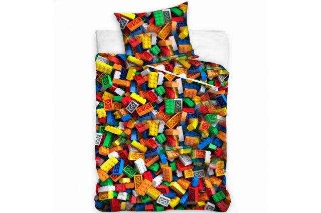 Patalynės komplektas Lego Satininės paklodės TavoSapnas