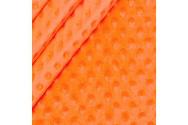 Minky audinys neoninis oranžinis|Satininės paklodės|TavoSapnas
