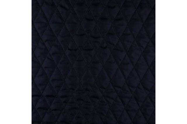 Pašiltintas striukinis pamušalas Tamsiai mėlynas, likutis 0.25x1.40m Satininės paklodės TavoSapnas