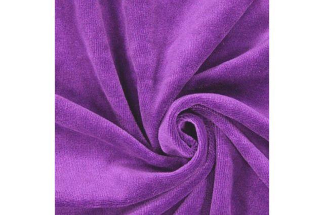 Veliūro violetinio likutis 0.55x1.80m Satininės paklodės TavoSapnas
