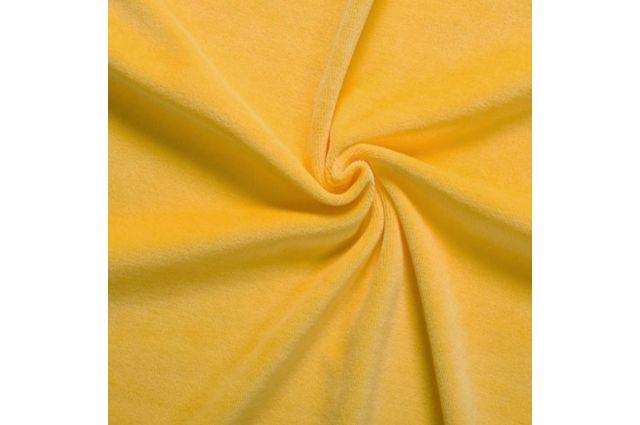 Veliūro geltono likutis 0.80x1.80m Satininės paklodės TavoSapnas
