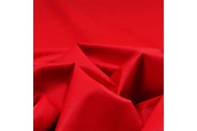 Dirbtinė EKO oda raudona Satininės paklodės TavoSapnas