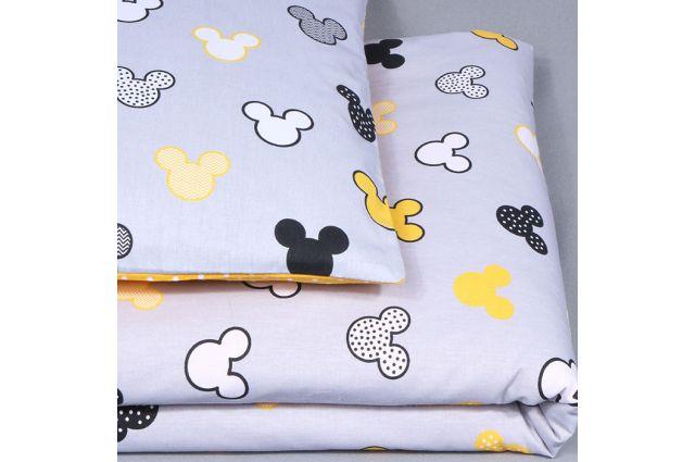 Patalynės komplektas Yellow Disney|Satininės paklodės|TavoSapnas