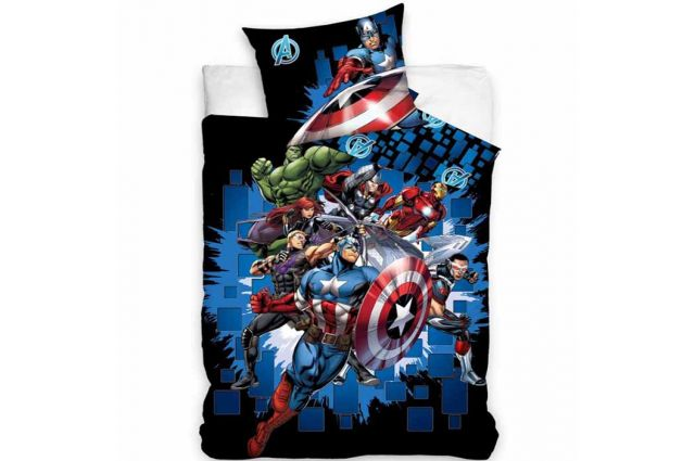 Patalynės komplektas Avengers|Satininės paklodės|TavoSapnas