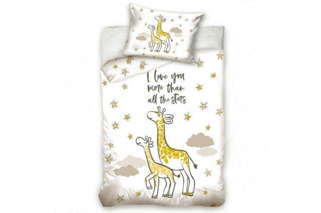Premium patalynė Giraffe|Satininės paklodės|TavoSapnas