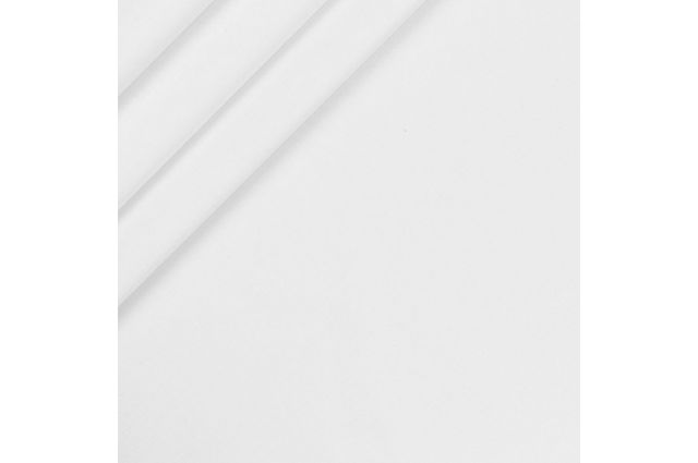 Drobelė balta, likutis 0.25x0.75m|Satininės paklodės|TavoSapnas