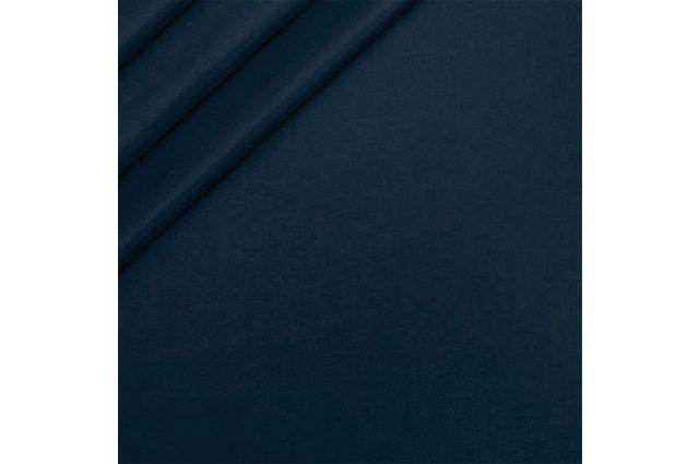 Drobelė tamsiau mėlyna, likutis 0.90x1.60m Satininės paklodės TavoSapnas