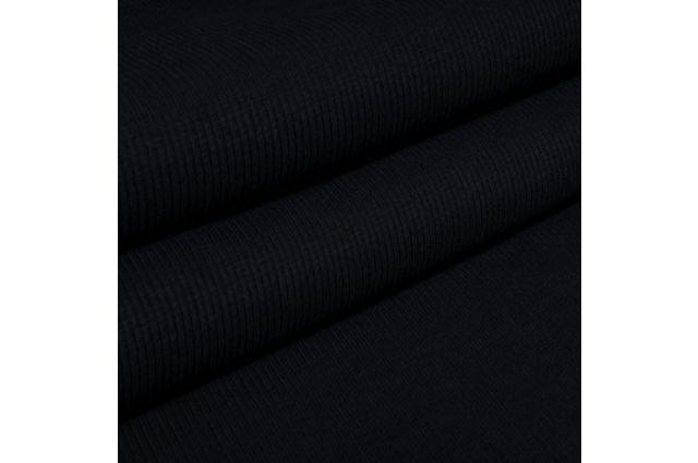 Rib trikotažas tamsus mėlynas 105 cm pločio|Satininės paklodės|TavoSapnas