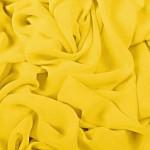 Šifonas, geltonas Satininės paklodės TavoSapnas