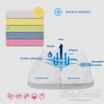 Neperšlampanti trikotažinė paklodė su guma|Satininės paklodės|TavoSapnas
