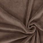 Medvilninis veliūras kakavinis|Satininės paklodės|TavoSapnas