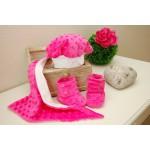Minky audinys rožinis|Satininės paklodės|TavoSapnas