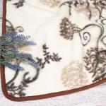 Merinosų vilnos pledas Ornamentas|Satininės paklodės|TavoSapnas