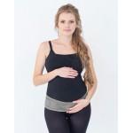 Palaikomasis nėščiosios diržas Lux Grey|Satininės paklodės|TavoSapnas