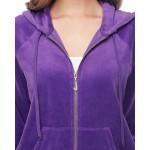 Veliūro violetinio likutis 0.65x1.80m Satininės paklodės TavoSapnas