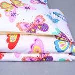 Patalynė Spalvoti drugeliai|Satininės paklodės|TavoSapnas