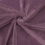New Soft Veliūras Dark old lilac, likutis 2.10x1.80m (suglamžytas)|Satininės paklodės|TavoSapnas