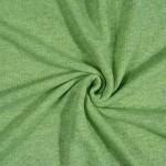 Trisiūlis kilpinis trikotažas Žalsvas melanžas, likutis 1.60x1.50m|Satininės paklodės|TavoSapnas