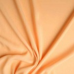 Krepinis žoržetas persikinis, likutis 1.50x1.40m|Satininės paklodės|TavoSapnas