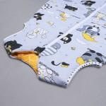 Šiltas miegmaišis Kačiukai|Satininės paklodės|TavoSapnas