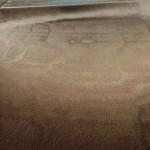 Atlasinis audinys tamsiai rudas su broku Satininės paklodės TavoSapnas