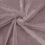 New Soft Veliūras Ash nude-rose, likutis 1.35x1.50m Satininės paklodės TavoSapnas