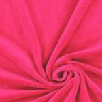 Veliūro ryškaus rožinio likutis 0.55x1.85m|Satininės paklodės|TavoSapnas