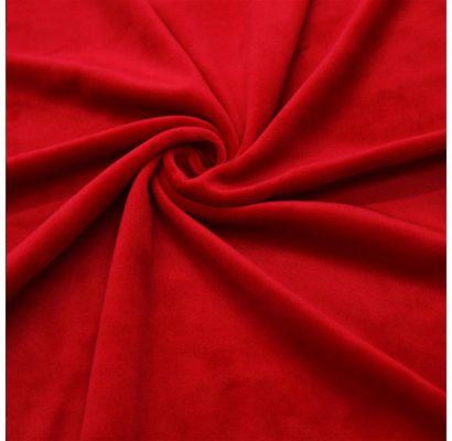 New Soft Veliūras Red, likutis 0.40x1.50m|Audiniai|TavoSapnas