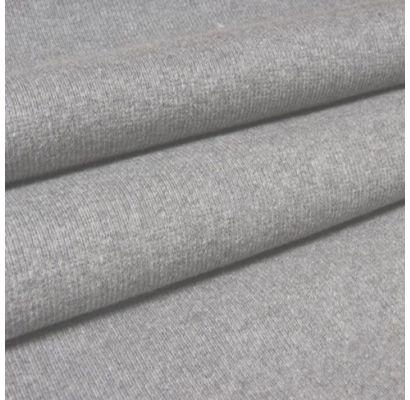 RIB trikotažas pilkas melanžas, likutis 0.90x1m|Audiniai|TavoSapnas