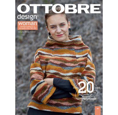 Ottobre design Woman Autumn/Winter 5/2020|Audiniai|TavoSapnas