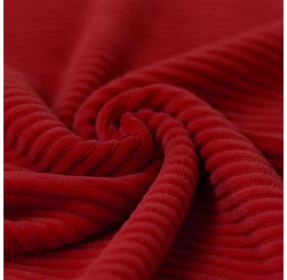Veliūrinis trikotažas Raudonas|Audiniai|TavoSapnas