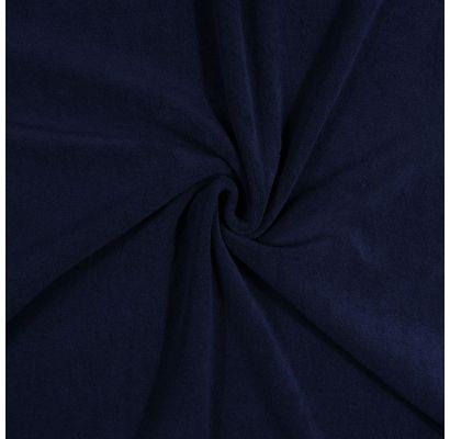 Frotinis trikotažas Tamsus mėlynas, likutis 1.60x1.50m|Audiniai|TavoSapnas