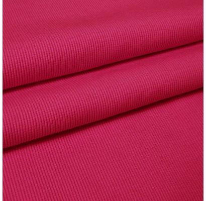 Rib trikotažas rožinis, likutis 0.45x0.65m Audiniai TavoSapnas