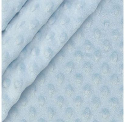 Minky audinys pastelinis melsvas, likutis 1.10x1.60m|Audiniai|TavoSapnas