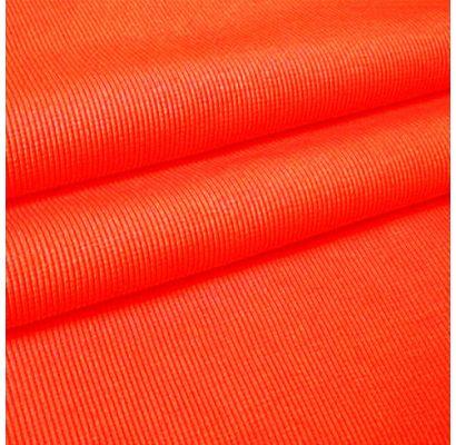 Rib trikotažas Orange neon, likutis 0.70x1.10m|Audiniai|TavoSapnas