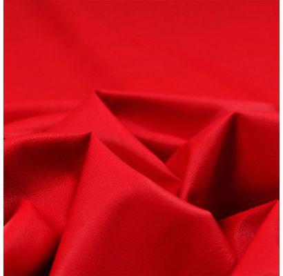 Dirbtinė EKO oda raudona, likutis 0.08x1.40m|Audiniai|TavoSapnas