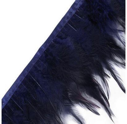 Juostelė plunksnų, tamsiai mėlyna|Audiniai|TavoSapnas
