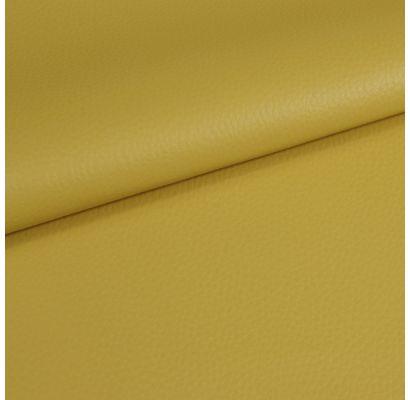 Dirbtinė oda Dolaro neryški geltona, likutis 1.40x1.40m|Audiniai|TavoSapnas
