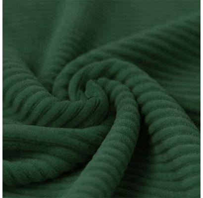 Veliūrinis trikotažas Sendintas žalias|Audiniai|TavoSapnas