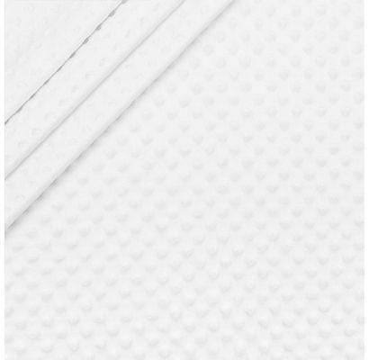 Minky audinys baltas, likutis 0.50x1.60m|Audiniai|TavoSapnas
