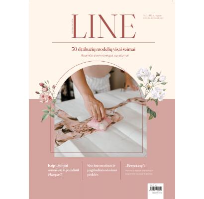 LINE 2021 m. rugpjūtis|Audiniai|TavoSapnas