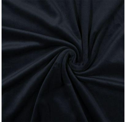 New Soft Veliūras Dark blue, likutis 0.75x1.50m Audiniai TavoSapnas