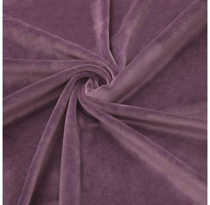 New Soft Veliūras Dark old lilac, likutis 2.10x1.80m (suglamžytas) Audiniai TavoSapnas